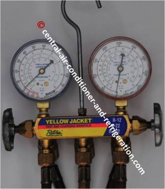 r410a manifold gauge set manual
