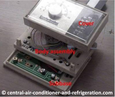 Mercury Ac thermostat