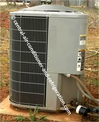 HVAC condenser unit