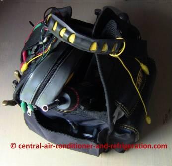HVAC tool bag