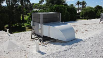 Carrier 48ES rooftop ac unit
