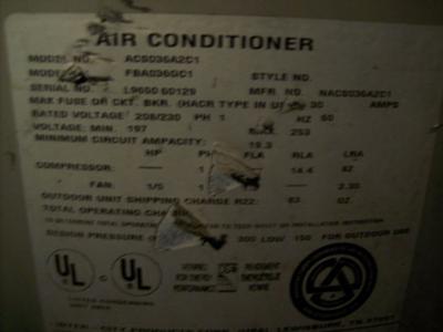 comfortmaker furnace serial number age